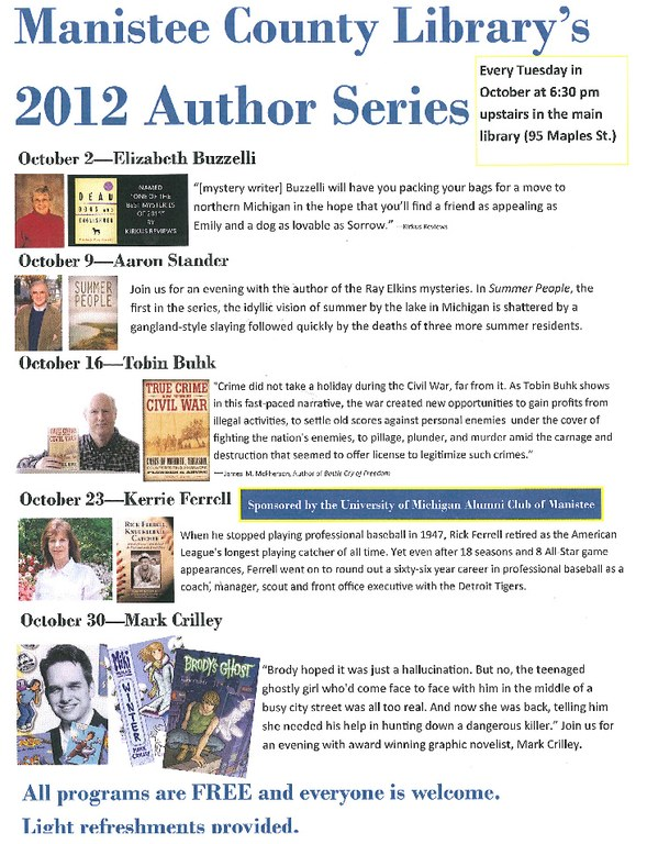 Author Series 2012