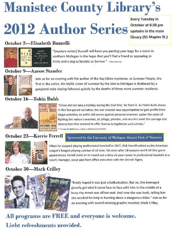 Author Series 2012