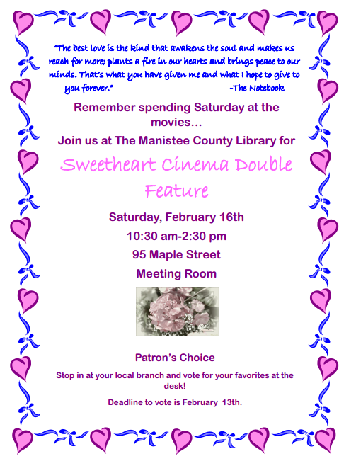 Sweetheart Cinema Double Feature
