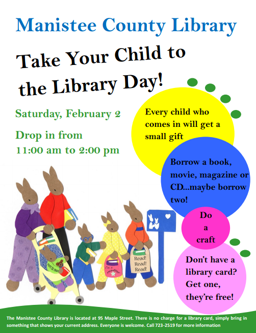 take your child to the lib